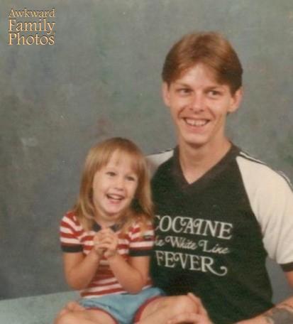 Cocaine The White Line Fever (Ankward Family Photos)  PYGear.com