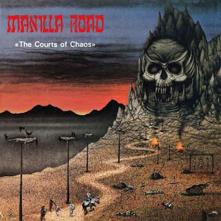 """Ο δίσκος των Manilla Road """"The Courts of Chaos"""""""