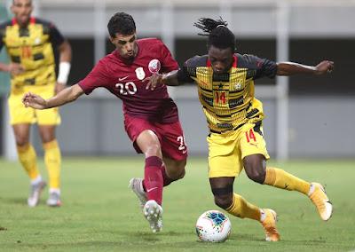ملخص واهداف مباراة غانا وقطر (5-1) مباراة ودية