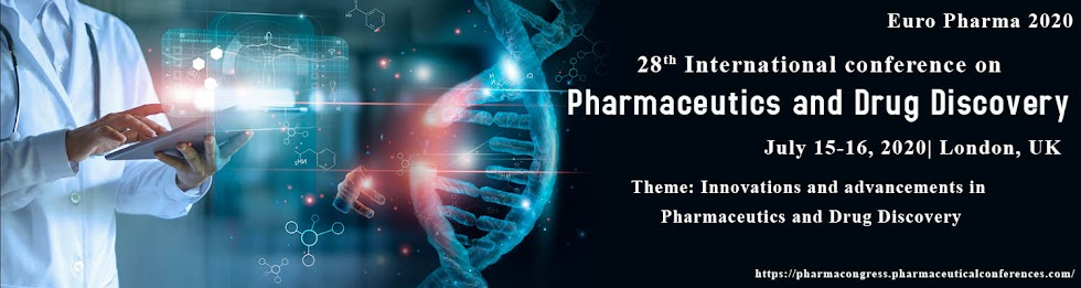 28th International Conference on  Pharmaceutics and Drug Discovery July 15-16, 2020 London, UK