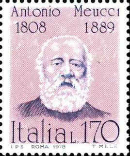 1978 - Antonio Meucci- Inventor Telephone Phone