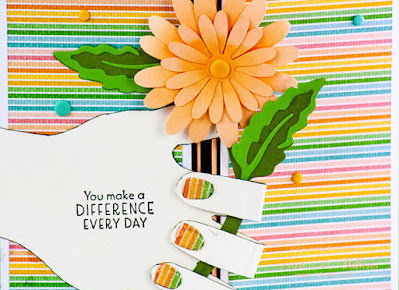 Check out my Summer WOW Card for the July 2021 Blogging Friends Blog Hop using the Inspired Thoughts Stamp Set from Stampin' Up!