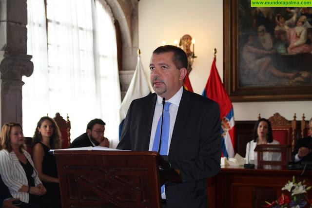 Juan José Cabrera nuevo alcalde de Santa Cruz de La Palma con el apoyo de CC