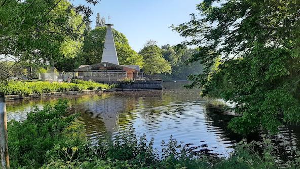 Het Zuiderpark in Escamp