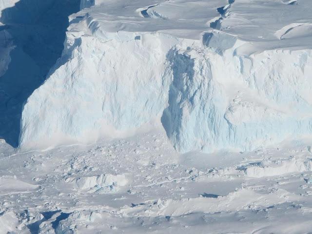 El 'glaciar del fin del mundo', cada vez más inestable