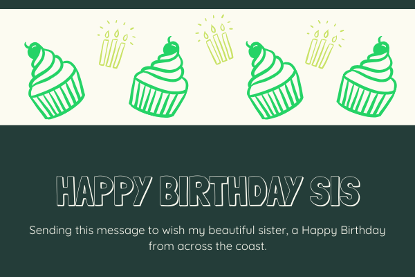 Happy Birthday Sister Images - ImagesHappyBirthday.com