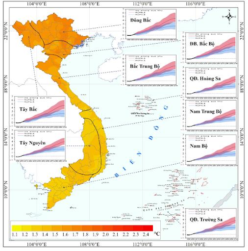 TẠI SAO nhiệt độ tăng dần từ Bắc vào Nam