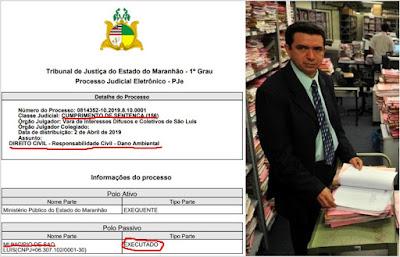 Vara de Direitos Difusos manda calcular o valor da multa pela degradação causada pelo Lixão do Jaracaty de São Luís