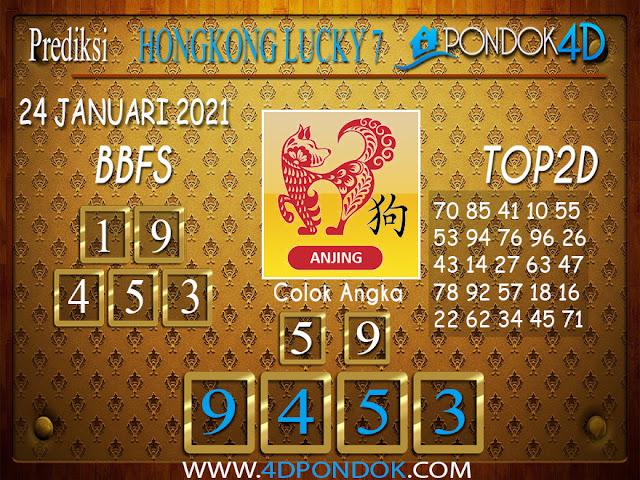 Prediksi Togel HONGKONG LUCKY 7 PONDOK4D 24 JANUARI 2021