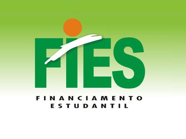 inscrições para o Fundo de Financiamento Estudantil (Fies)