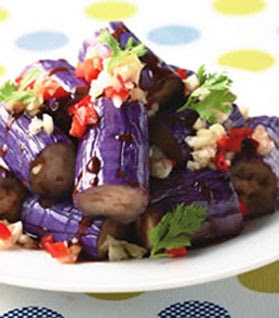Micky S Favorite Taiwanese Recipes Cold Eggplant 涼拌茄子