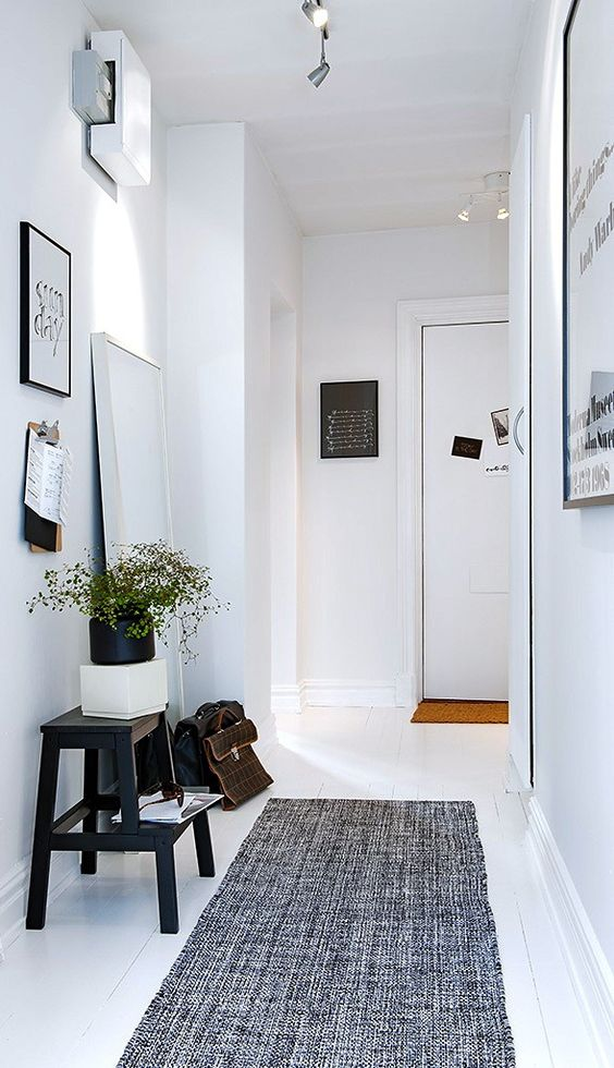 Corredor... Ideias para decorar este espaço