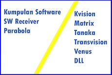 Kumpulan Software SW Receiver Parabola 2020