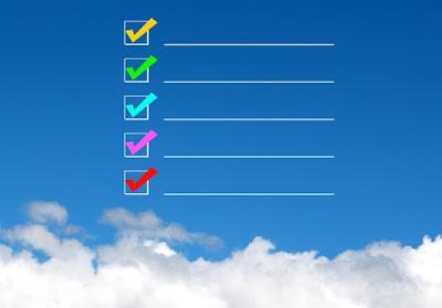 11月の目標リスト