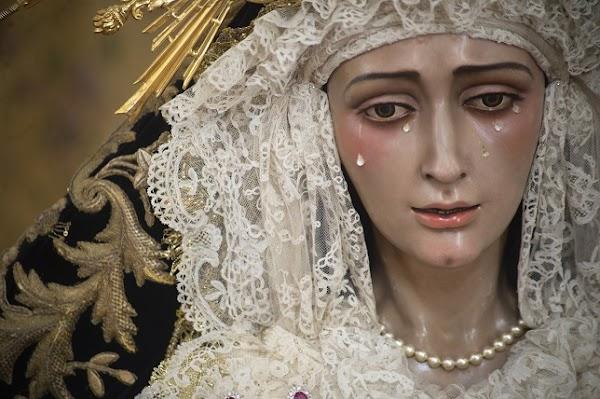 Así regresa la Virgen del Dulce Nombre de Bellavista tras la restauración
