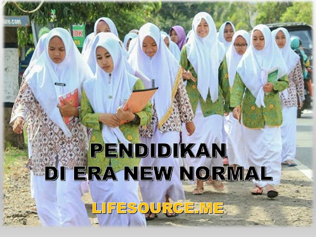 penyiapan pendidikan di era new normal