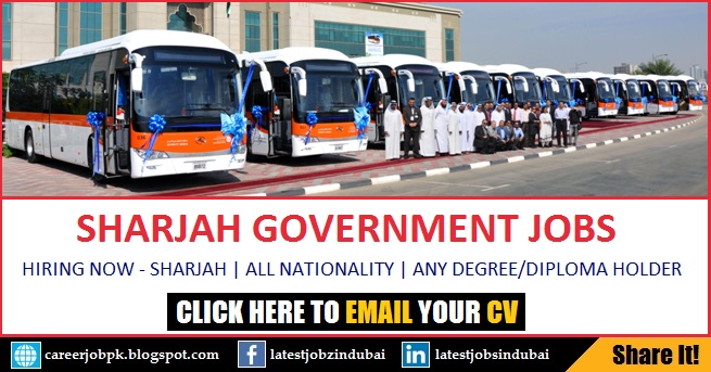 Sharjah Government Jobs in SRTA