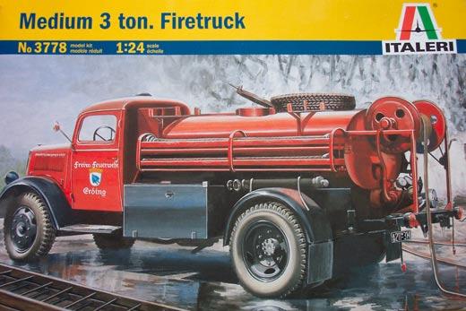 Opel Blitz TLF 3.6 Firetruck (Italeri 1:24) 101599-10571