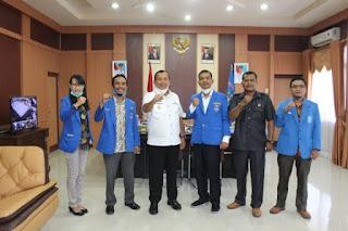 Terima Audiensi DPC GAMKI Sibolga, Wali Kota : Kami Butuh Peran Pemuda Bangun Sibolga