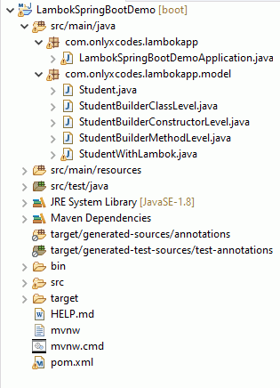 project directory structure