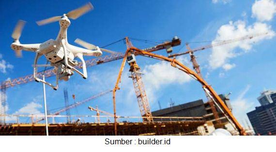 drone konstruksi