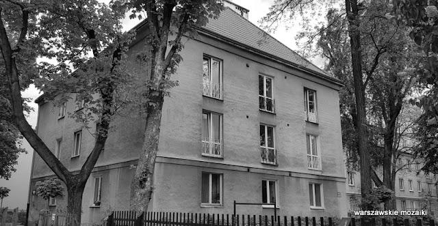 Warszawa Warsaw architektura architecture Stare Bielany Spółdzielnia Zdobycz Robotnicza styl dworkowy