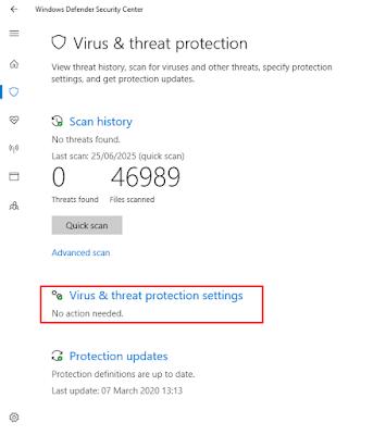 Menonaktifkan Sementara di Windows 8 dan 10