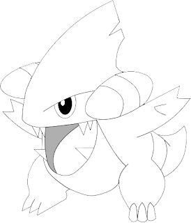 gible coloring pages - photo#8