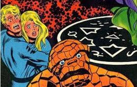 Fantastic Four 110-Negative Zone