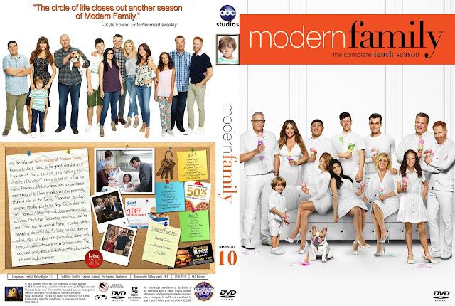 Modern Family Season 10 DVD Cover