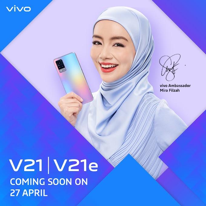 Vivo Lancar V21 Series dengan 44MP Night Selfie