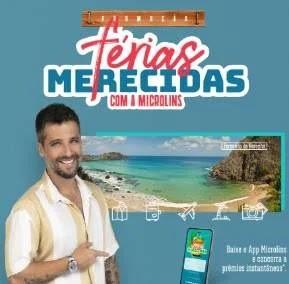 Cadastrar Promoção Microlins Férias Merecidas Fernando de Noronha