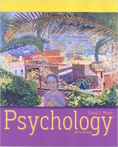 Psychology, 9th Edition by David G  Myers PDF Book Download