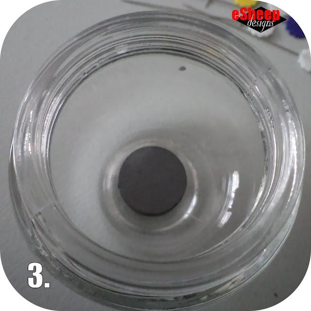DIY Magnetic Pin Jar by eSheep Designs