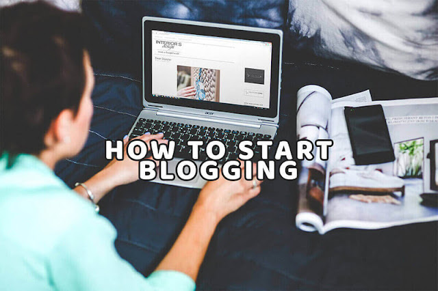 how to start blogging for newbie