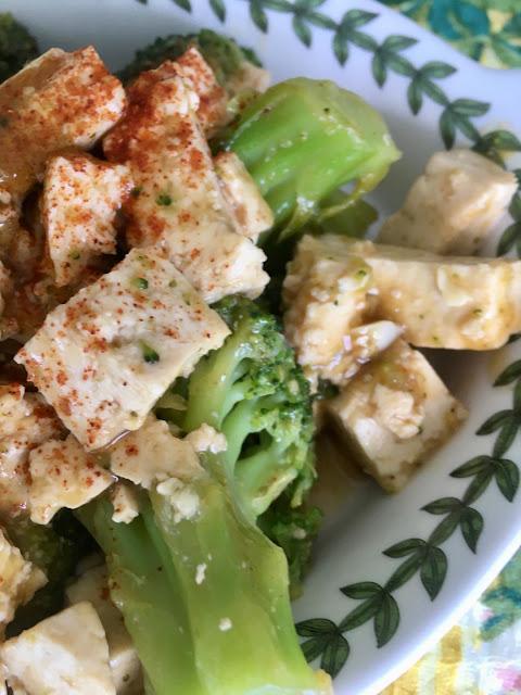 Gluten Free and Vegan Broccoli and Tofu