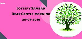 Lottery Sambad,Dear Gentle Morning