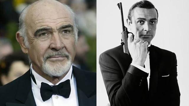 """وفاة الممثل البريطاني المشهور شون كونري """" جيمس بوند"""" عن عمر يناهز الـ 90 سنة"""