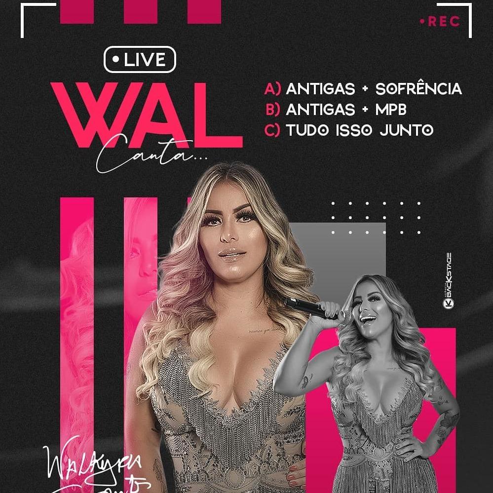 Walkyria Santos - Live em Casa - 2020