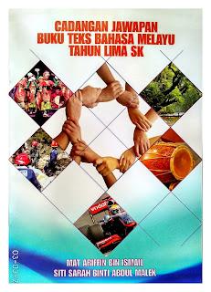 Buku Panduan Jawapan Bahasa Melayu Tahun 5 SK