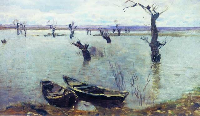 Исаак Ильич Левитан - Разлив. 1887