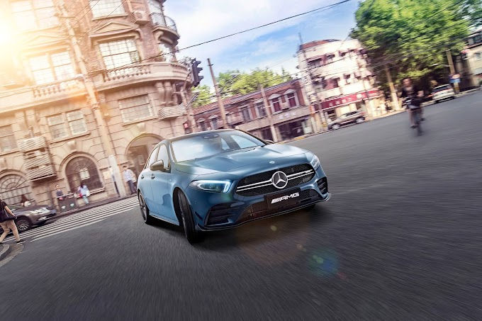 Mercedes-AMG Has Developed A New Entry-Level Model Exclusively For The Chinese Market