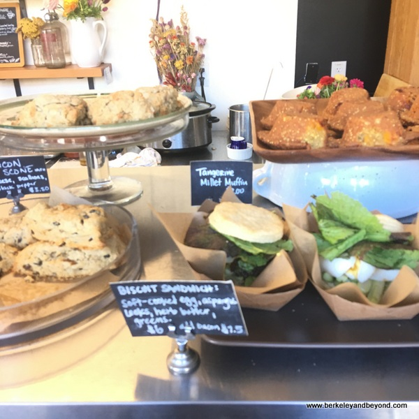 baked goods at Standard Fare bakery in Berkeley California