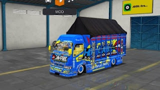 Mod Truck Rebecca On Fire