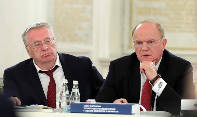 политическая карьера Жириновского и Зюганова близится к закату. Все-таки к 2024 году им будет почти 80 лет.