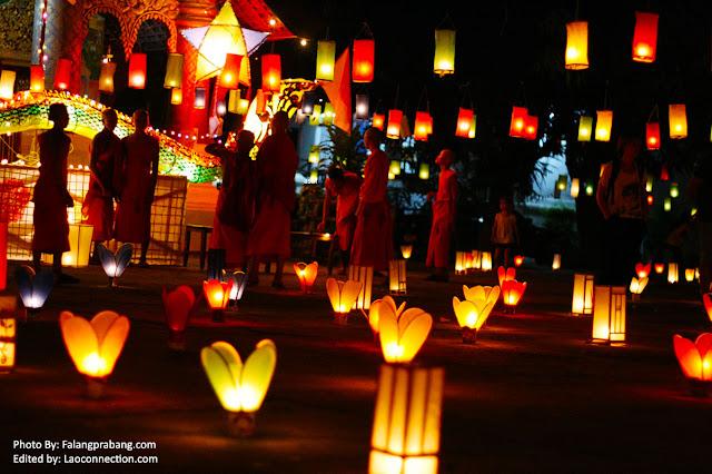 Awk Pansa Lanterns in Luangprabang