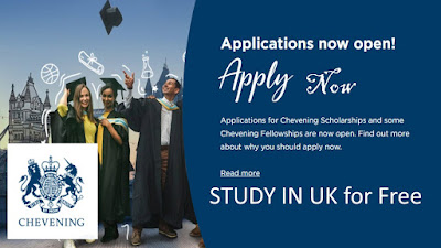 Chevening Scholarship to Study in UK