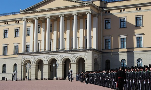 A guard for the Norwegian Royal Family fired shot inside palace