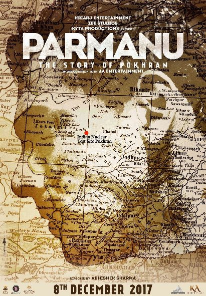 Parmanu new upcoming movie first look, Poster of John Abraham, Diana Penty download first look Poster, release date