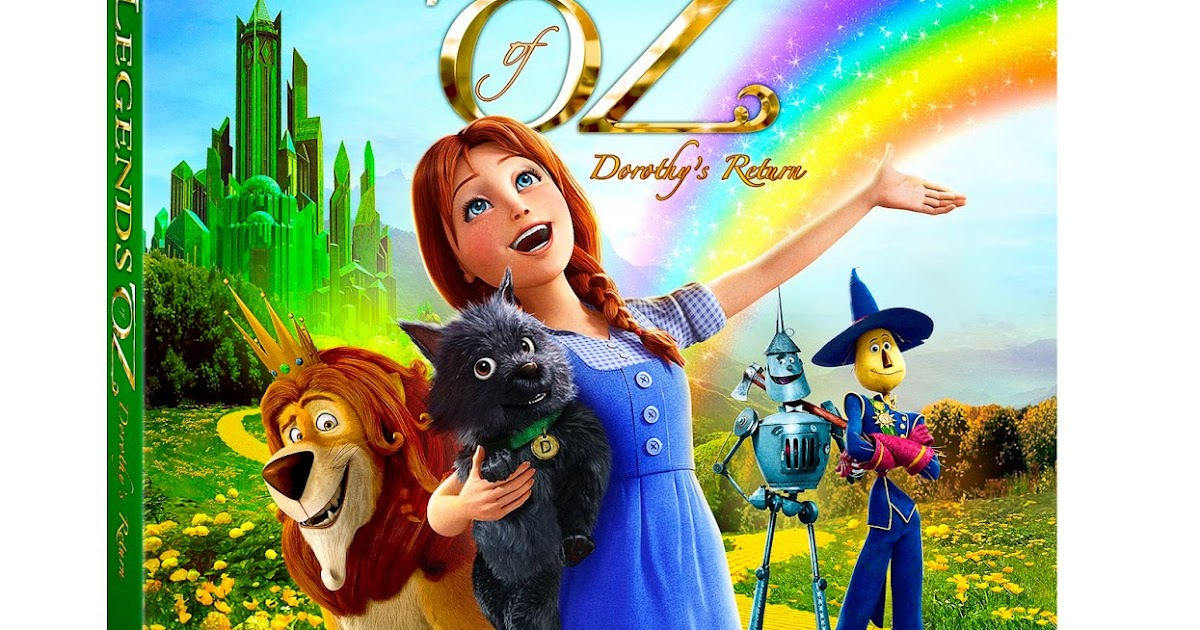 Legends Of Oz Dorothy S Return Blu Ray Activity Sheets